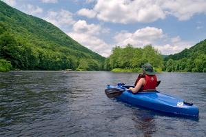 Kayaking on Youghiogheny River