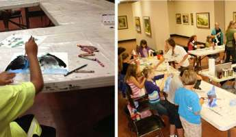 Spring Into Art: 7 & 8 Year Olds Art Camp