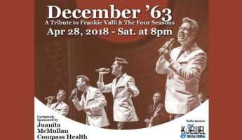 December '63- Tribute to Frankie Valli & The Four Seasons