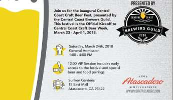 Central Coast Craft Beer Festival