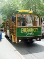 Hop On and Hop Off with an Emerald City Trolley Tour in Downtown Seattle
