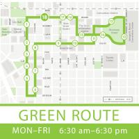 Houston Bus Transportation Greenlink Green Route