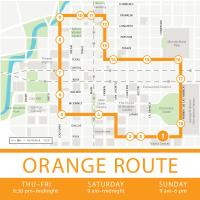 Houston Bus Transportation Greenlink Orange Route