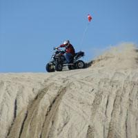 Oregon Dunes National Recreation Area, ATV Quad, Florence, by Sheryll Loftin