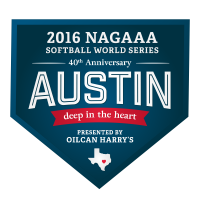 Gay Softball World Series in Austin TX Logo