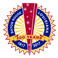 Baton Rouge 200 Years Logo