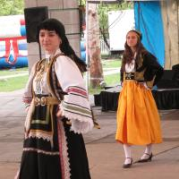Greek female dancer- Headwaters Park Fort Wayne IN