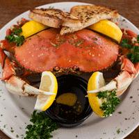 Dungeness Crab at Bridgewater Restaurant