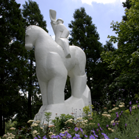 Springfield Horse Statue