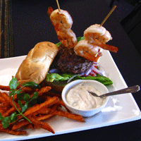 Surf & Turf Burger by Spice