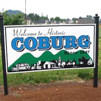 Historic Coburg Sign
