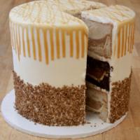 Pumpecapple Pie Cake