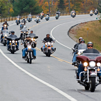 Motorcycle Riders in New York State