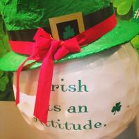 Irish decorative hat