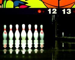 Bowling Pins, by Ibon San Martin