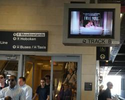 2017 Summer Marketing Campaign - NJT Station Digital Screen - Cove Haven Entertainment Resorts