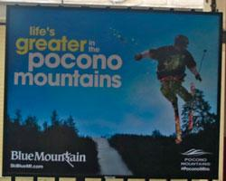 14/15 Platform Poster - Blue Mountain - Small