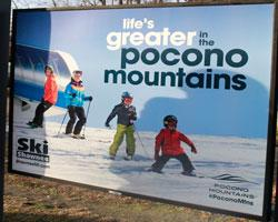 14/15 Platform Poster - Shawnee Mountain - Small
