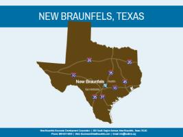 New Braunfels Map-State