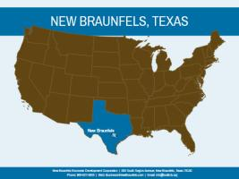 New Braunfels Map-US