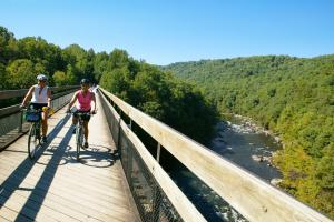 Ohiopyle High Bridge, Great Allegheny Passage