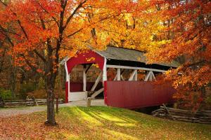 Somerset Historical Center Covered Bridge