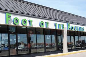 Foot of the Rockies