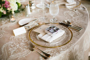 Nemacolin Wedding Place Setting