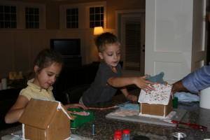 Building Gingerbread Houses