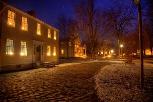 Genesee Country Village at Night