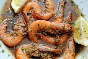 DiCristina's barbequed shrimp