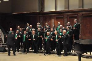 Chorus of the Genese peforms at Hochstein School of Music and Dance in Rochester, NY