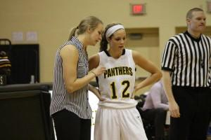 Basketball coach Lynsey Warren