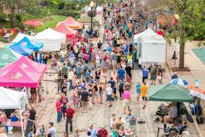 City Market Crowd