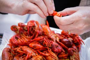 Crawfish Boil at Bayou Beer Garden