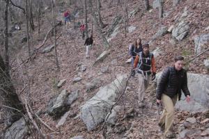 Hiking House Mountain