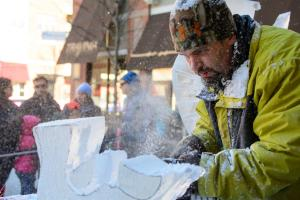 Village at Leesburg Ice Fest