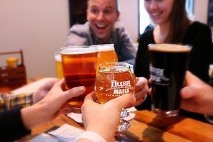 Irish Mafia drinks and friends