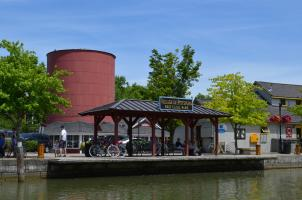 Dock at Schoen Place in Pittsford, NY