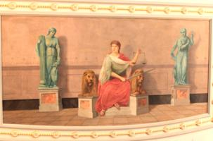 a mural in the House of Representatives