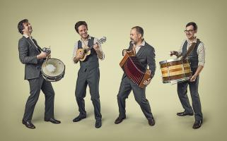 Matuto performs at George Eastman Museum
