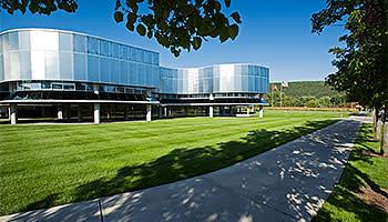Contemporary building: exterior