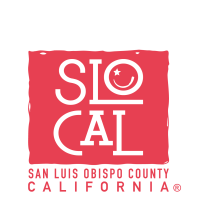 SLO CAL trdemarked logo in red