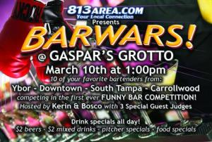 BarWars at Gaspar's Grotto