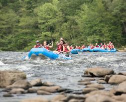 Whitewater Rafting Fun