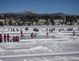 Can/Am Adult Pond Hockey (credit: lakeplacid.com)