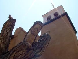 Cerrillos Jesus Statue