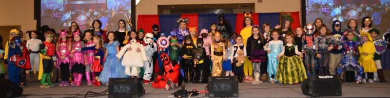 Grand Rapids Comic Con Kids Costumes