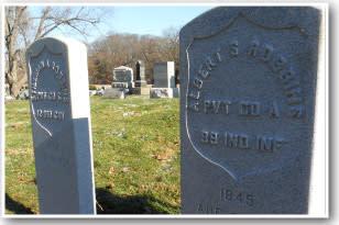 Stillman-Albert-Robbins-headstones
