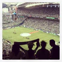 Seattle Sounders FC Match at CenturyLink Field in Seattle